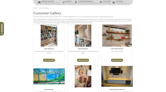 woodshop customer gallery